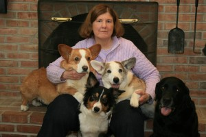 Barbara and her dogs #1